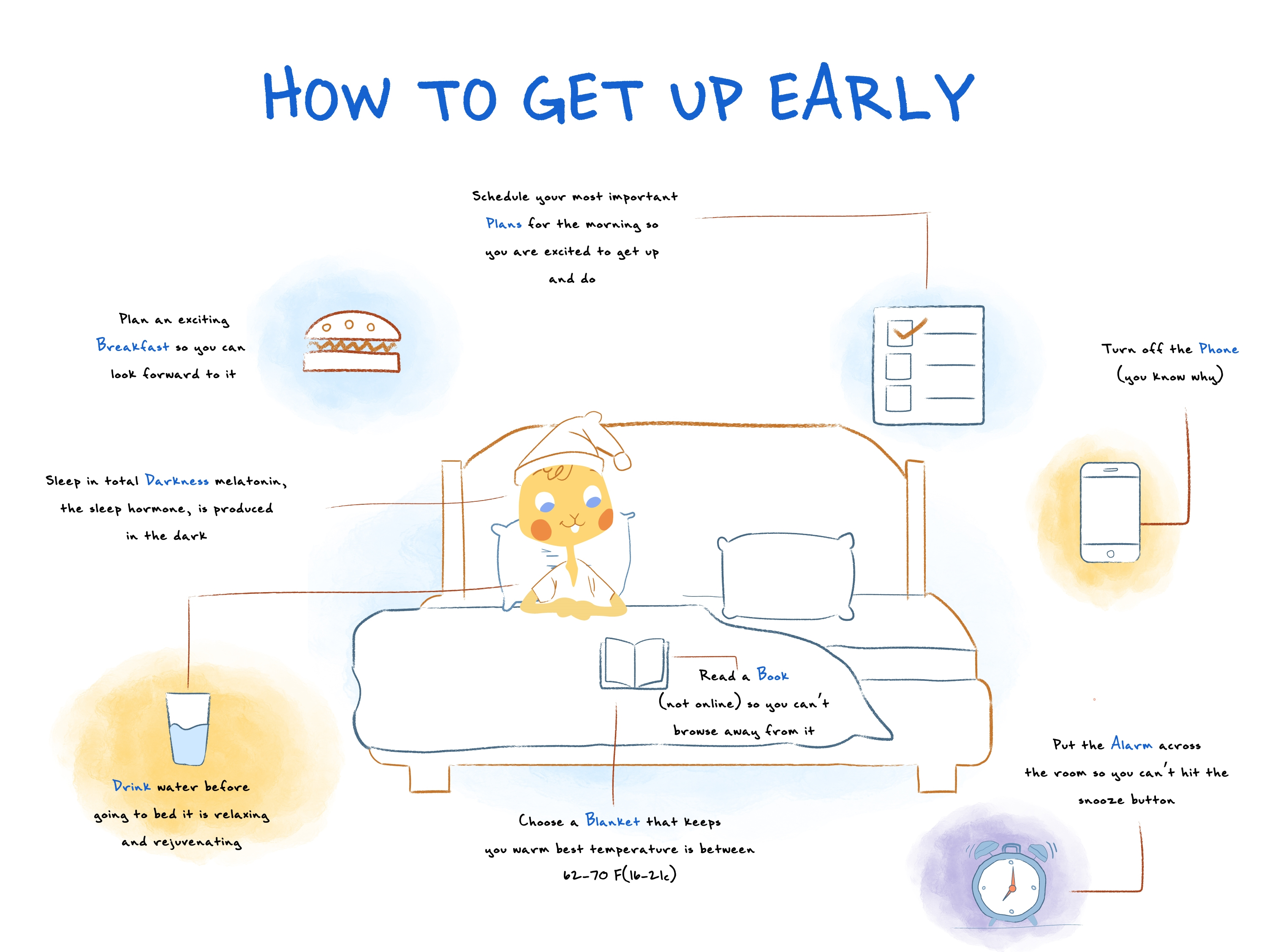How to Get Up Early By Preparing the Night Before
