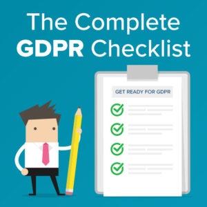 The Complete GDPR Website Checklist
