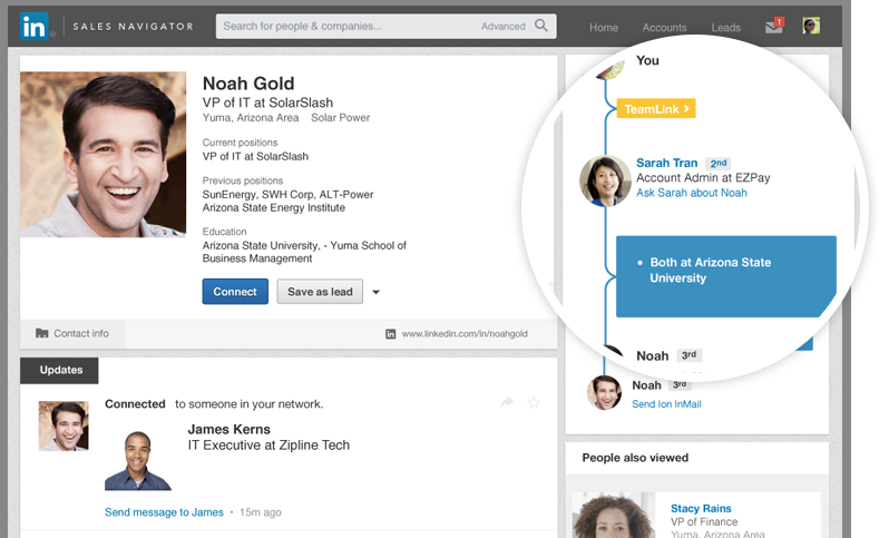 How to Land Clients and Build Professional Relationships with LinkedIn Sales Navigator