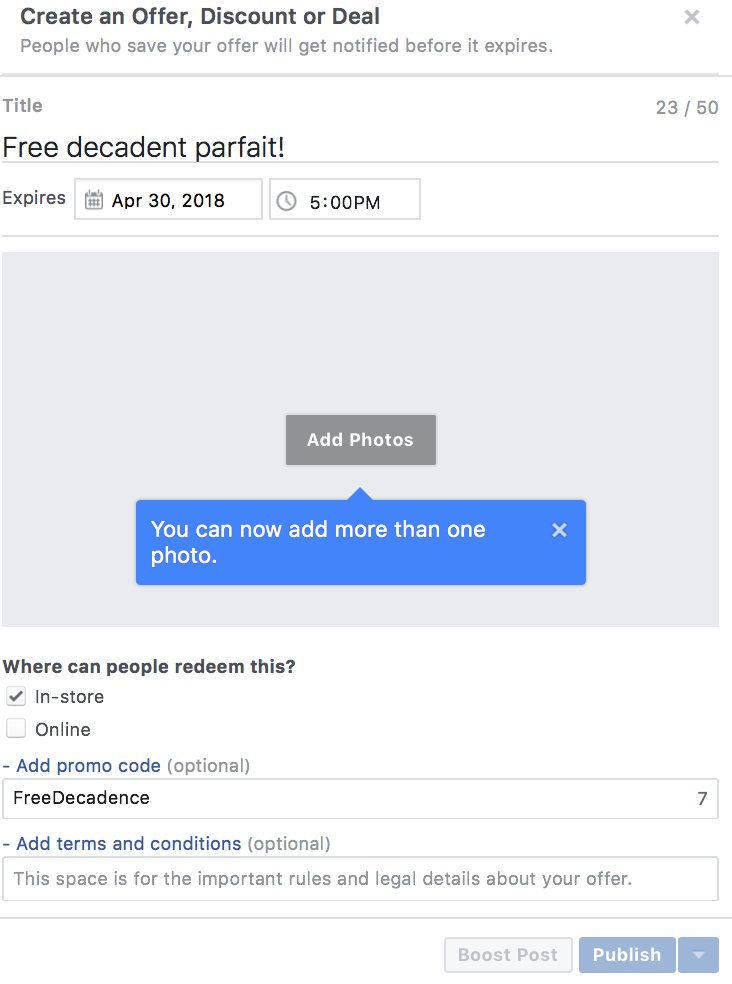How to Use Facebook Offers to Sweeten the Deal  and  Drive Conversions