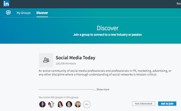 Achieve Your Business Goals with Research on LinkedIn