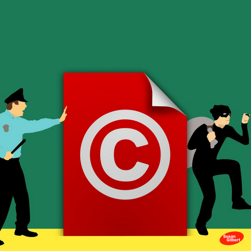 Find Out Whether Your Content Is Subject to Copyright Laws #infographic