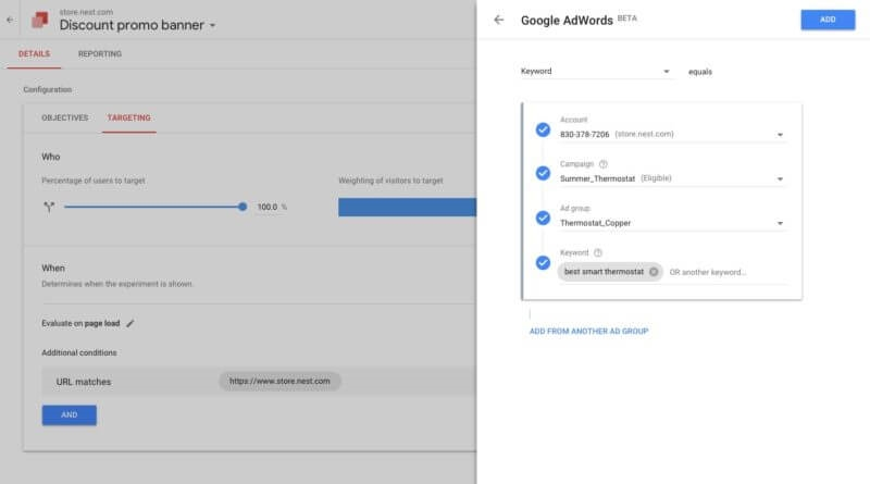 5 Google Optimize tests to take AdWords to the next level