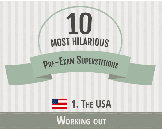 10 Most hilarious pre-exam superstitions