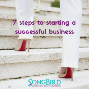 7 Steps To Starting a Successful Business
