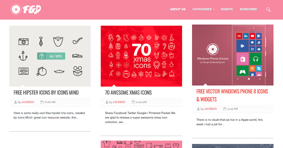 Free Icon Marketplaces And Websites Free Goodies for Designers
