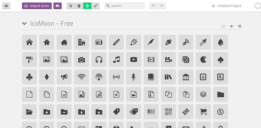55 Free Icon Marketplaces And Websites For Your Graphic Design Needs