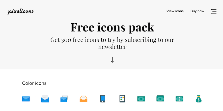 Free Icon Marketplaces And Websites Pixelicons