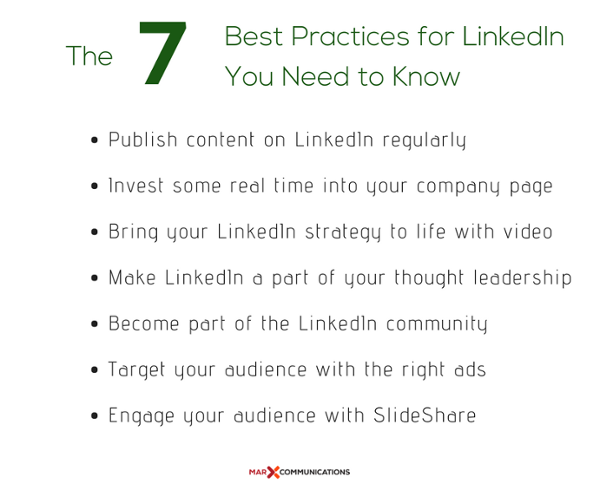 The Best Practices for LinkedIn: How to Fire Up Your Strategy