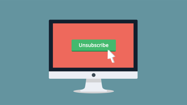 Why You Shouldn't Stress Out About People Who Unsubscribe from Your Email List