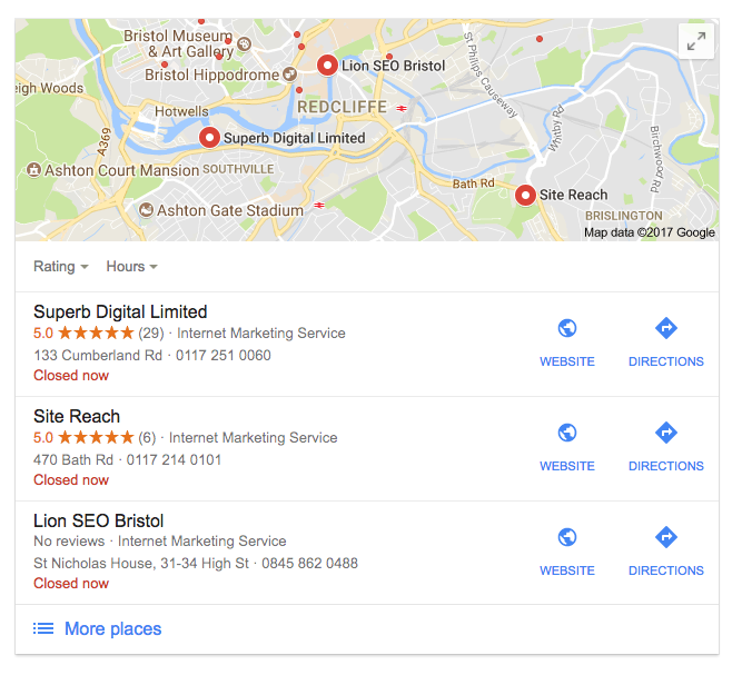 Benefits of Google Reviews For SEO