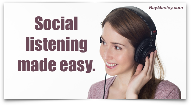 How to Conquer Social Listening With One Free Applet