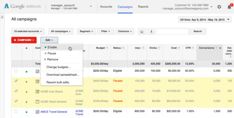 Structuring paid search campaigns: Segmentation vs. aggregation