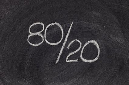 The 80/20 Rule for Email Marketers