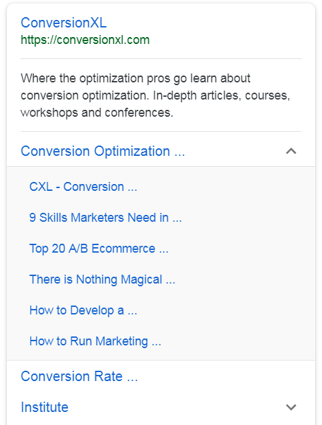 How to Curate Sitelinks to Increase Conversions