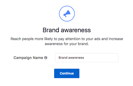 Facebook Ads Brand Awareness Objective Explained