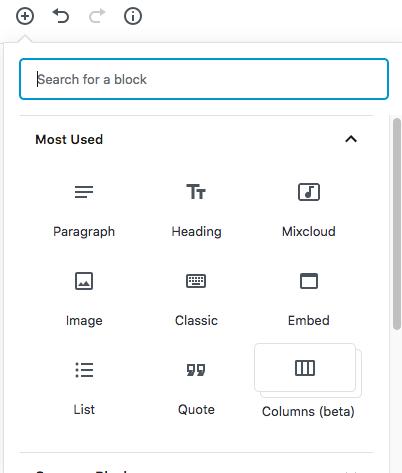 Gutenberg Prebuilt Blocks
