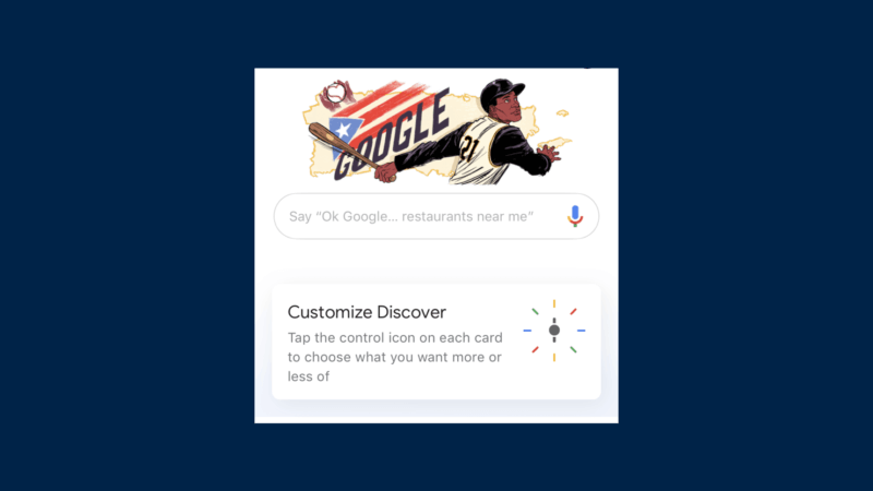 Native ad test in Google Discover feeds gets a new look