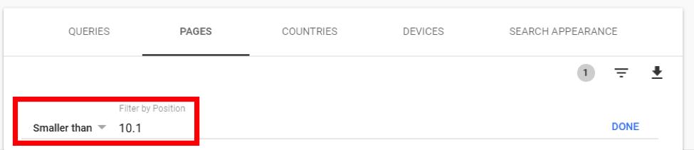 New Google Search Console 10