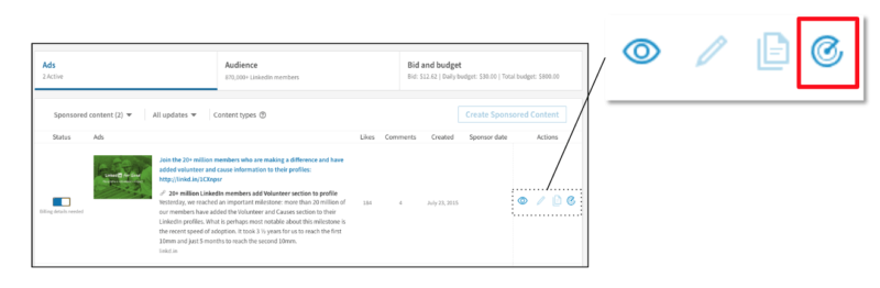 LinkedIn Sponsored Content can now be tracked via Google Campaign Manager