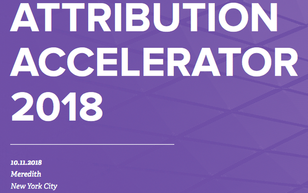 Get Your 'Attribution Accelerator' Presentations Here