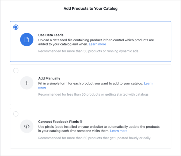 3 Ways to Use a Facebook Product Catalogue