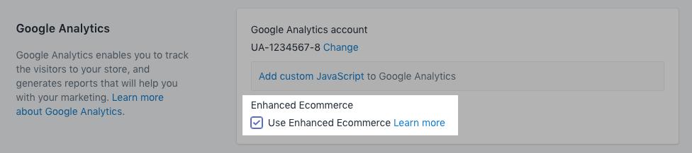 setting up enhanced ecommerce analytics tracking