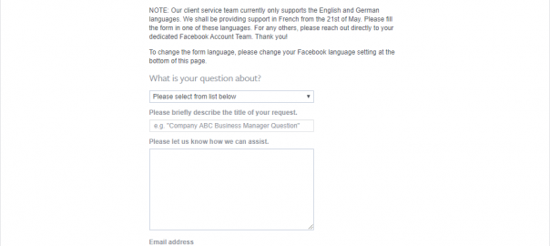 How to Contact Facebook Ads Support   Online Sales Guide Tips