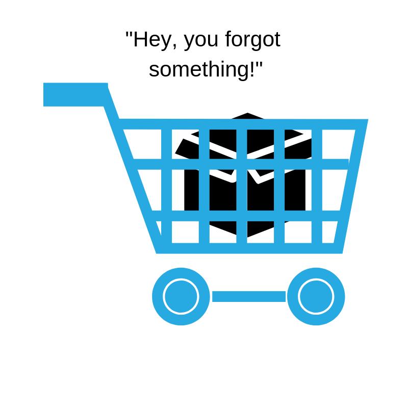 profitble ecomm marketing emails - cart abandonment