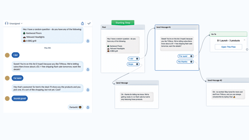 How one marketer uses a chatbot to retain customers