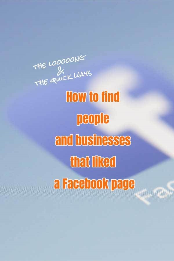 facebook business page tip