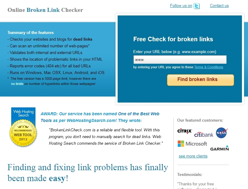 Online broken link checker- the best alternative to WordPress plugins