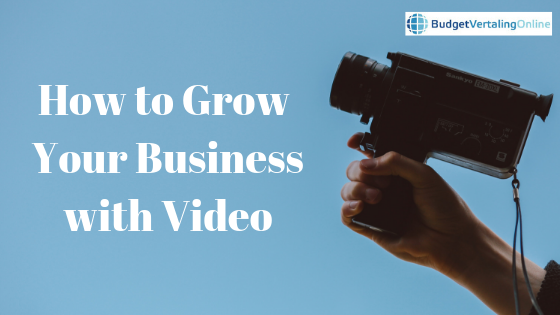 'How to Grow Your Business with Video' If you want to learn how you too can grow your business with video, this blog post might help you. You will find out why video is such a powerful and cost-effective medium, and you will find a list of 10 ways to grow your business with video