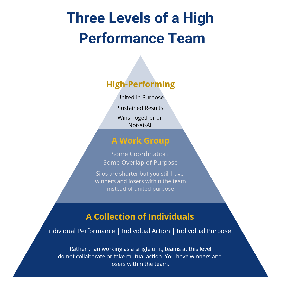 The 3 Levels of a High-Performance Team