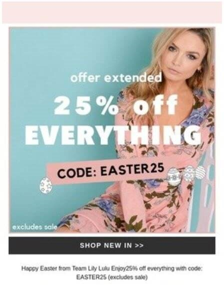 Easter Email Marketing That'll Make Customers Hoppy