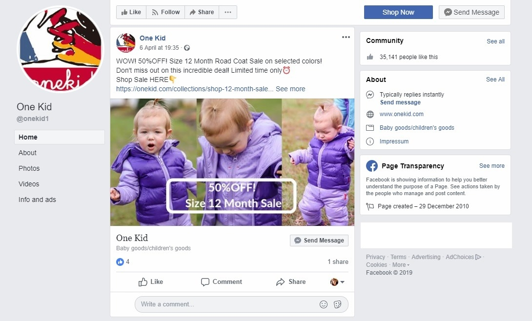 12+ Facebook Stats Online Sellers Need to Know in 2019