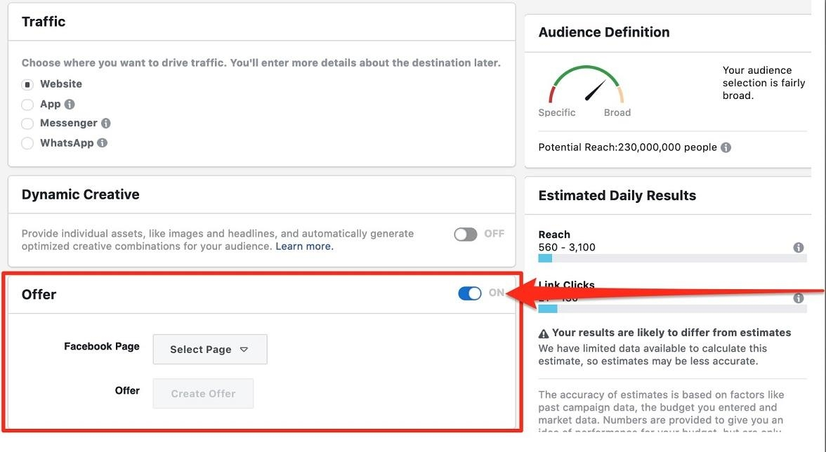 How to Share Deals  and  Drive Sales with Facebook Offer Ads