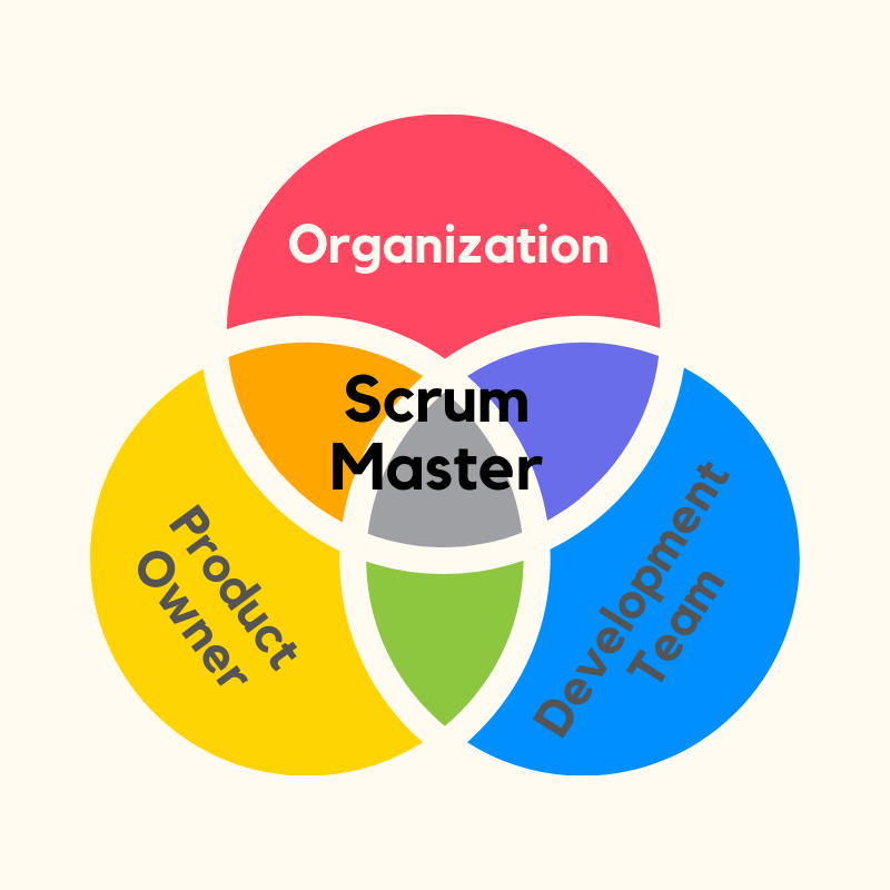 A Scrum Master Works on 3 Levels