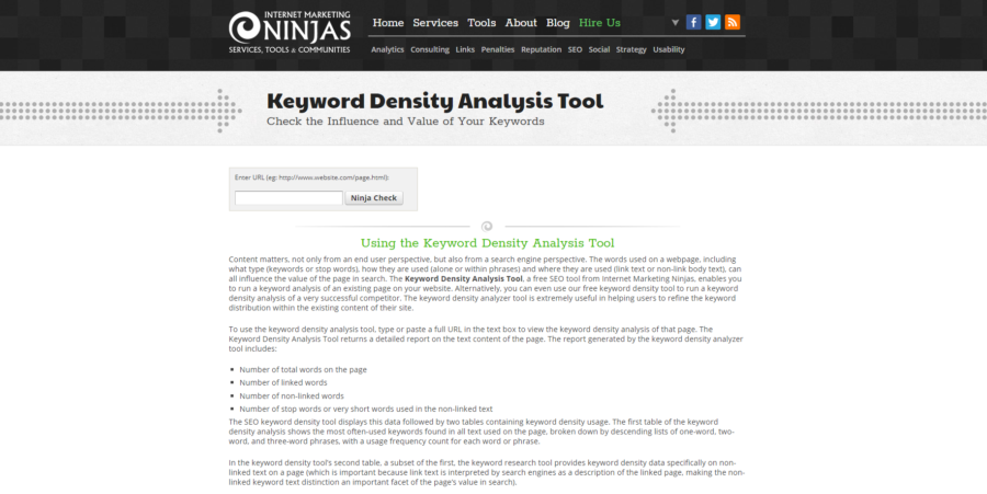 10 Keyword Density Checkers (And How They Still Can Help Your SEO)