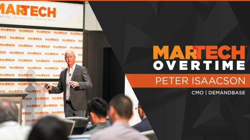 MarTech West Overtime: How B2B marketers can reach buying committees at their target accounts