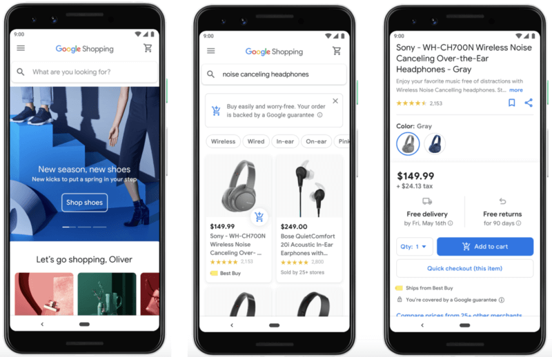 Google bringing new Shopping experience with personalization, local and better checkout to U.S. next
