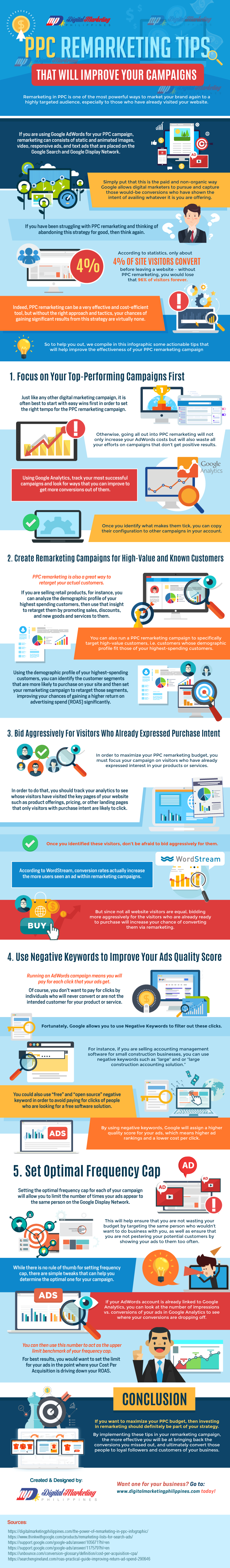 PPC Remarketing Tips That Will Improve Your Campaigns [Infographic]