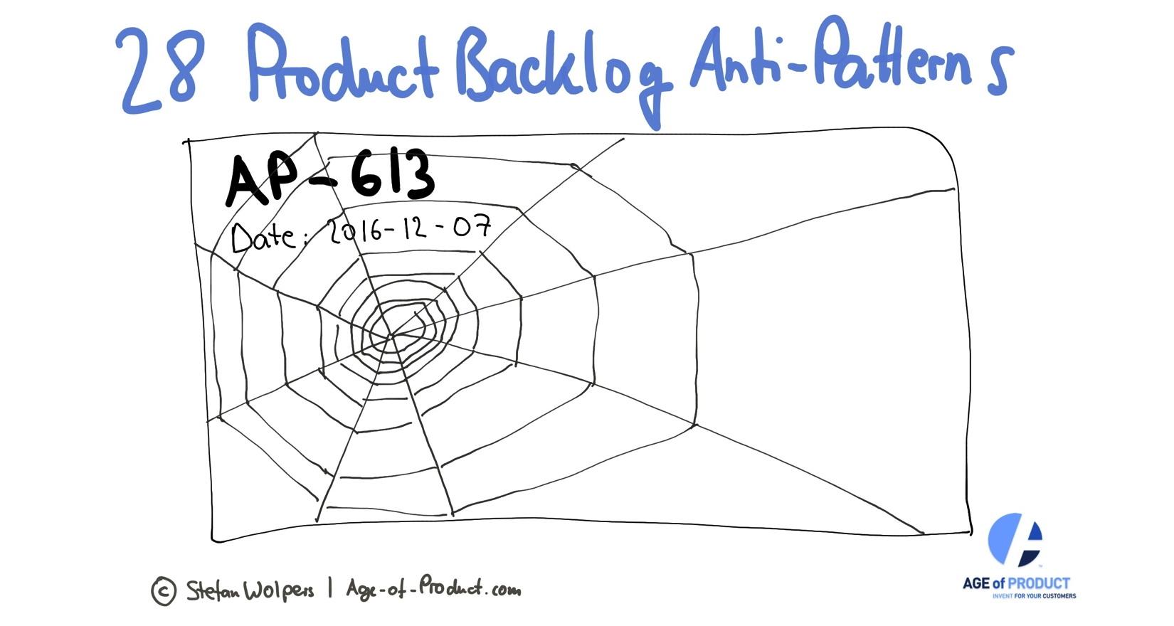 28 Product Backlog Anti-Patterns