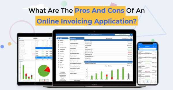 What Are the Pros and Cons of an Online Invoicing Application?