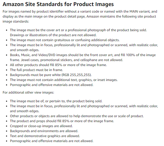 How to Sell More Products with Amazon Product Photography