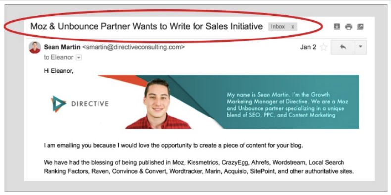 5 Sales Email Examples Proven to Engage Customers