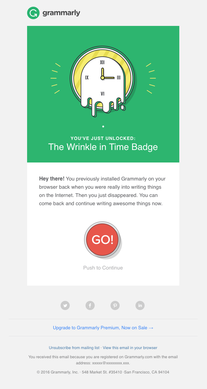 5 Creative Re-Engagement Emails