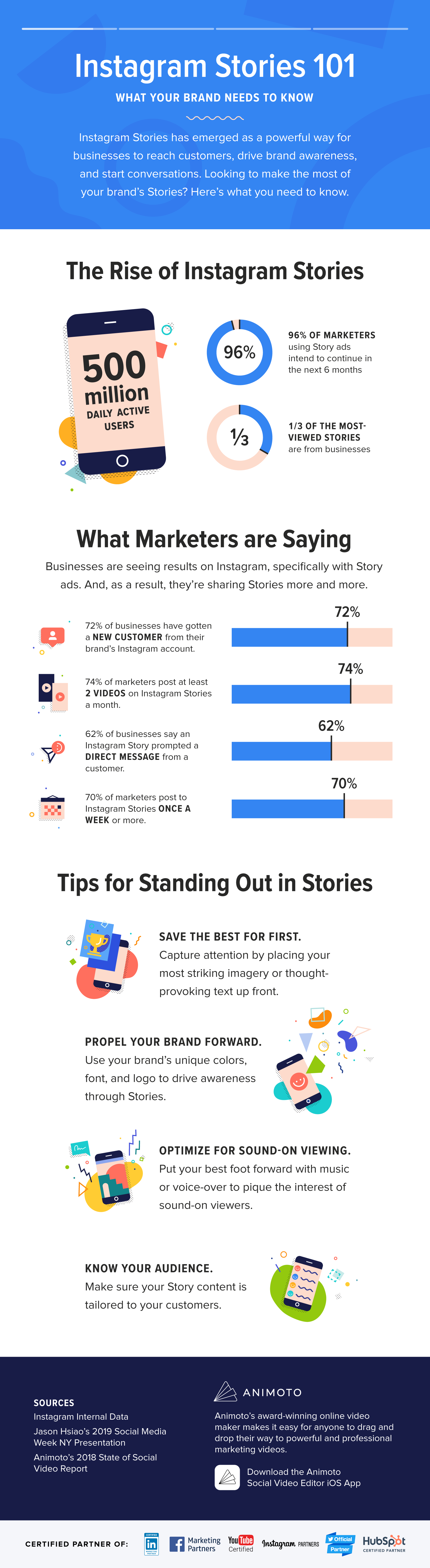 How to Differentiate Your Brand On Instagram Stories [Infographic]