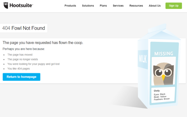 The Best 404 Pages on The Internet ( and  What We Learned From Them)