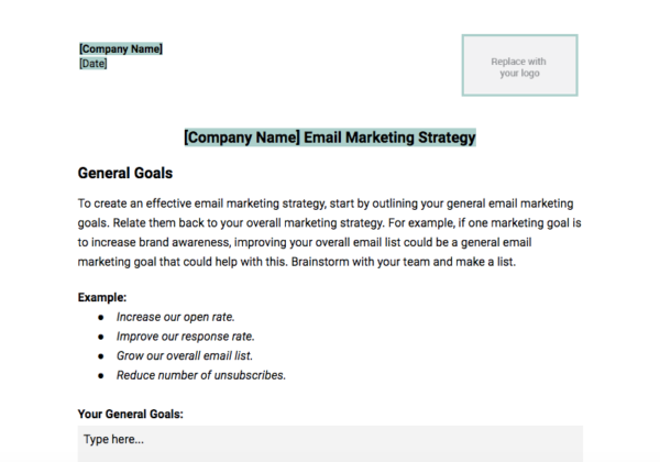 How to Build an Email Marketing Strategy (+ Template).
